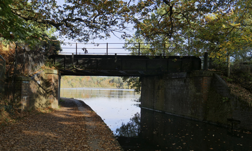 Mytchett Lake Railway Bridge