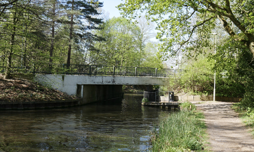 Pondtail (New) Bridge
