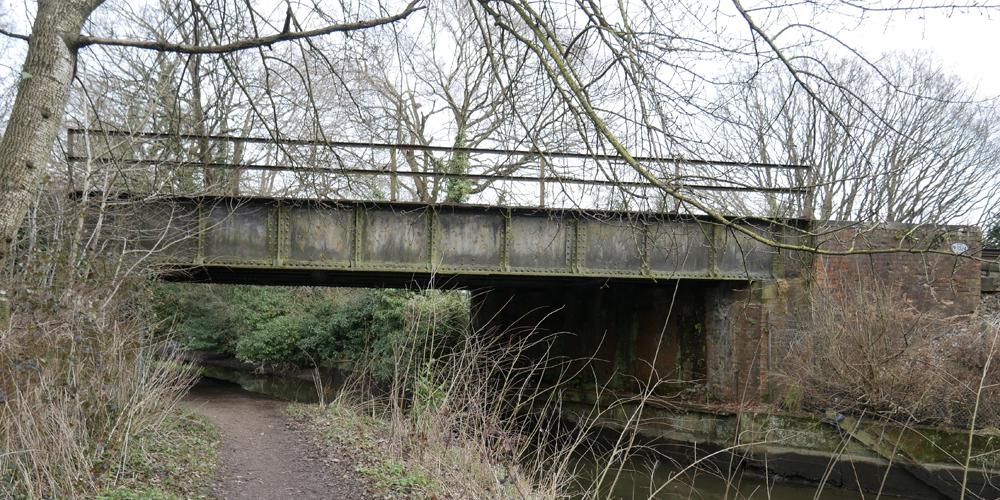 Railway Bridge - Ash Embankment East