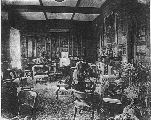Interior of Leigh Park Mansion House