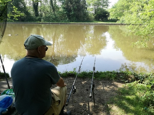 Staunton - man fishing