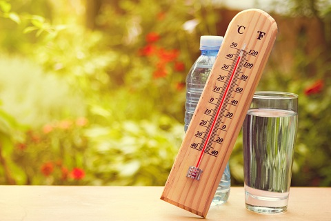 thermometer heatwave