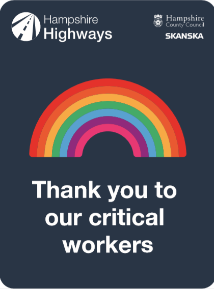 thank you to our critical workers